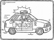 ausmalbilder polizei