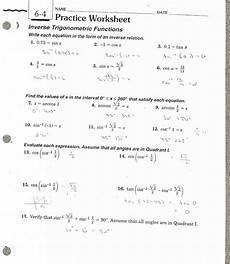 word problems trigonometry worksheets 11147 inspiringperiodic verifying trigonometric identities worksheet with answers