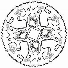 Ausmalbilder Tiere Nordamerika Ausmalbild Mandala Eule Einzigartig Ausmalbild Mandala
