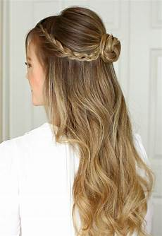 half up half down prom hair trendy hairstyles for an awesome