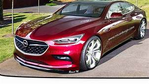 2020 New Opel Insignia  Cars Specs Release Date Review