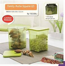 Family Mate Tupperware family mate square 2 tupperware indonesia promo