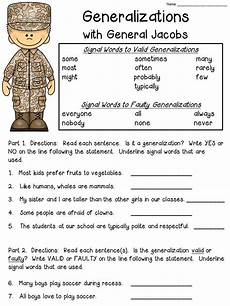 generalization worksheets for 5th grade 2385 best 5th grade language arts images pinterest school reading and handwriting ideas