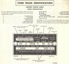 Ford Australia Vin Decoder Chart 1960 Build Date Ford Truck Enthusiasts Forums