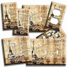 eiffel tower vitage decorative light switch outlet decor cover ebay