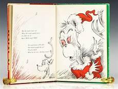 Grinch Malvorlagen Novel How The Grinch Stole Dr Seuss Edition Signed