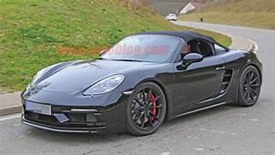 New Porsche 718 Boxster Spyder Revealed In Spy Photos