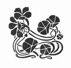 Vintage Nouveau Floral Ornaments The Graffical Muse