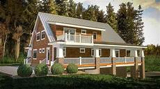 lake house plans with wrap around porch plan 18283be rear sloping house plan with magnificent