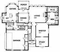 3600 sq ft house plans traditional style house plan 4 beds 3 5 baths 3600 sq ft