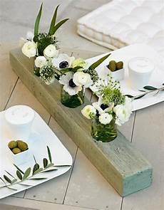 un centre de table comme un triptyque deco fleur deco