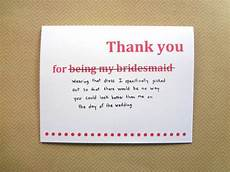 thank you for being my bridesmaid card template thank you card for bridesmaid wedding thank you
