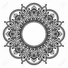 stock photo indische muster mandala vorlagen und