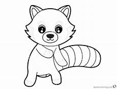 exclusive picture of red panda coloring page animal free photos red panda coloring page animal
