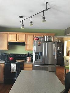 angled track lighting in kitchen want pendant lights