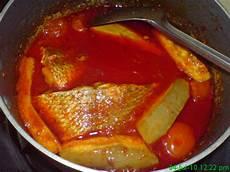 S Family Asam Pedas Ikan Merah Dan Ikan Masak Asam
