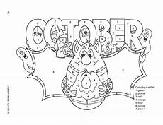 color by number fall coloring pages 18108 october color by numbers click through for more free ideas and activities coloring