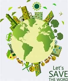 Cantik Poster Bumi Go Green Koleksi Poster
