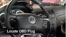 on board diagnostic system 1998 volkswagen jetta head up display on board diagnostic system 2008 volkswagen jetta engine control wher is the obd plug on a