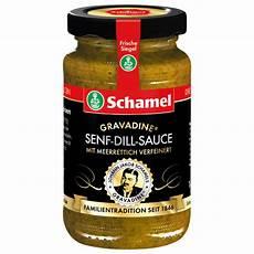 Schamel Gravadine Senf Dill Sauce Mit Meerrettich Honig