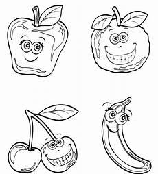 Ausmalbilder Zum Ausdrucken Obst Ausmalbild Obst Und Gem 252 Se Kostenlose Malvorlage