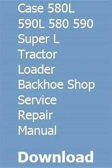 service repair manual free download 1988 lincoln continental mark vii engine control case 580l 590l 580 590 super l tractor loader backhoe shop service repair manual pdf download