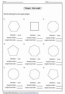 polygon worksheets