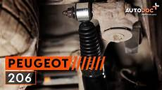 How To Change A Rear Shock Absorbers Peugeot 206 Tutorial
