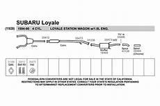 auto body repair training 1991 subaru loyale electronic valve timing walker 174 subaru loyale 1991 replacement exhaust kit