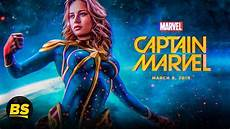 captain marvel 2019 trailer look brie larson