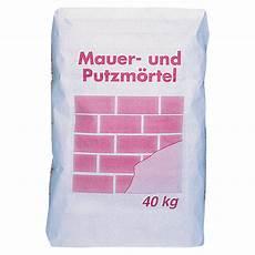 Mauer Und Putzmörtel - mauer putzm 246 rtel 40 kg bauhaus