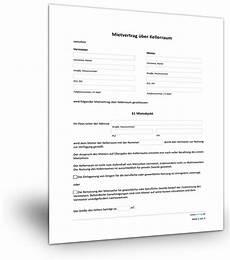 befristeter mietvertrag vorlage mietvertrag keller mietvertrag kostenlos formular und ausdrucken