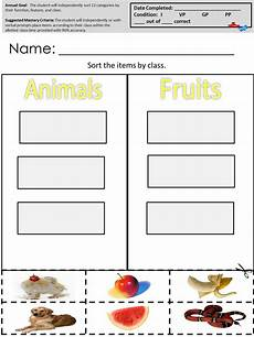 worksheets for aba therapy available only at autismcomplete com aba sorting categories