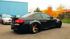 bmw m3 e92 black coupe tuning air suspension hd