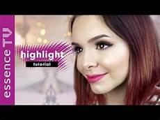 Make Up Richtig Auftragen - highlighter richtig auftragen make up tutorial