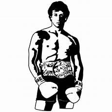 Silvester Malvorlagen Quotes Adesivo Murale Rocky Balboa Rocky Iii Stickersmurali