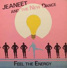 jeaneēt and the new dance feel the energy 1987 vinyl