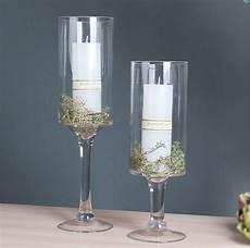 decoration cylinder glass flower vase with stem for