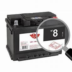 batterie voiture 50ah batterie voiture contact n 176 8 50ah 400a 12v feu vert
