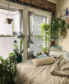 Aesthetic Bedroom Ideas For Small Rooms by This Cozy Bedroom Of Plants Indoor Gardening