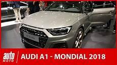 Mondial De L Auto 2018 L Audi A1 Sous Toutes Les