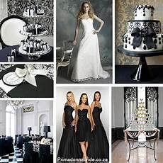 elegant black and white wedding primadonna bride