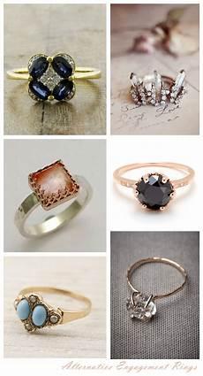 wedding rings alternative engagement rings