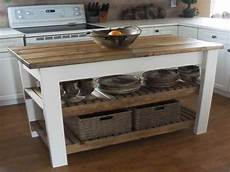 Kitchen Island On Wheels Plans by How To Build Diy Kitchen Island Plans Kitchen Island