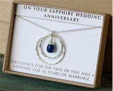 45th Wedding Anniversary Gift 45th anniversary gift 45th wedding anniversary gift sapphire