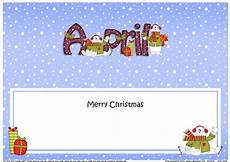 large dl merry christmas april insert cup747462 359 craftsuprint