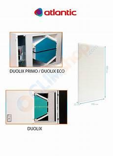 Atlantic Filtres Pour Vmc Flux Duolix Primo