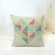 Decorative Cushions For Sofa by Ehomebuy Modern Cushion Cover Green Pink Plaid
