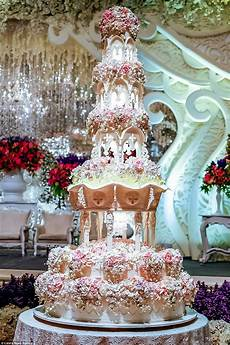 are these the most elaborate wedding cakes of all time daily mail online