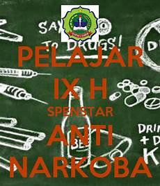 Pelajar Ix H Spenstar Anti Narkoba Poster Bayu Keep